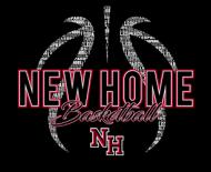 NH Basketball Cotton Hoodie
